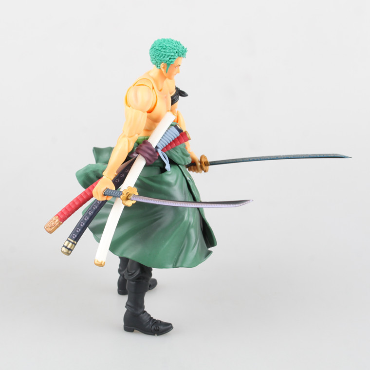 One Piece New World Anime Figuarts SPECIAL Megahouse MH Zoro Mito stream Assembling Figuarts ZERO Motion Determine PVC Restrict 0666