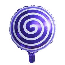 18 polegada Aniversário Folha De Alumínio Balão de Festa Festa de Casamento Criativa Dos Desenhos Animados Impressão Rodada Balões Decorativos(China)