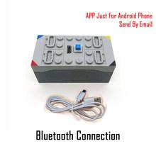 جديد الإبداعية الهاتف بلوتوث التحكم عن بعد 4 قنوات صندوق بطارية ليثيوم اللبنات متوافق مع أجزاء Buwizz sالطوب(China)