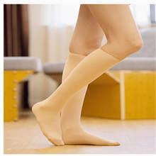 Yeni Kadın Kış Siyah Deri Diz Uzun Önyükleme Uyluk Yüksek Ince Sıcak Artı Kadife Çorap Tayt 2019 Yeni(China)