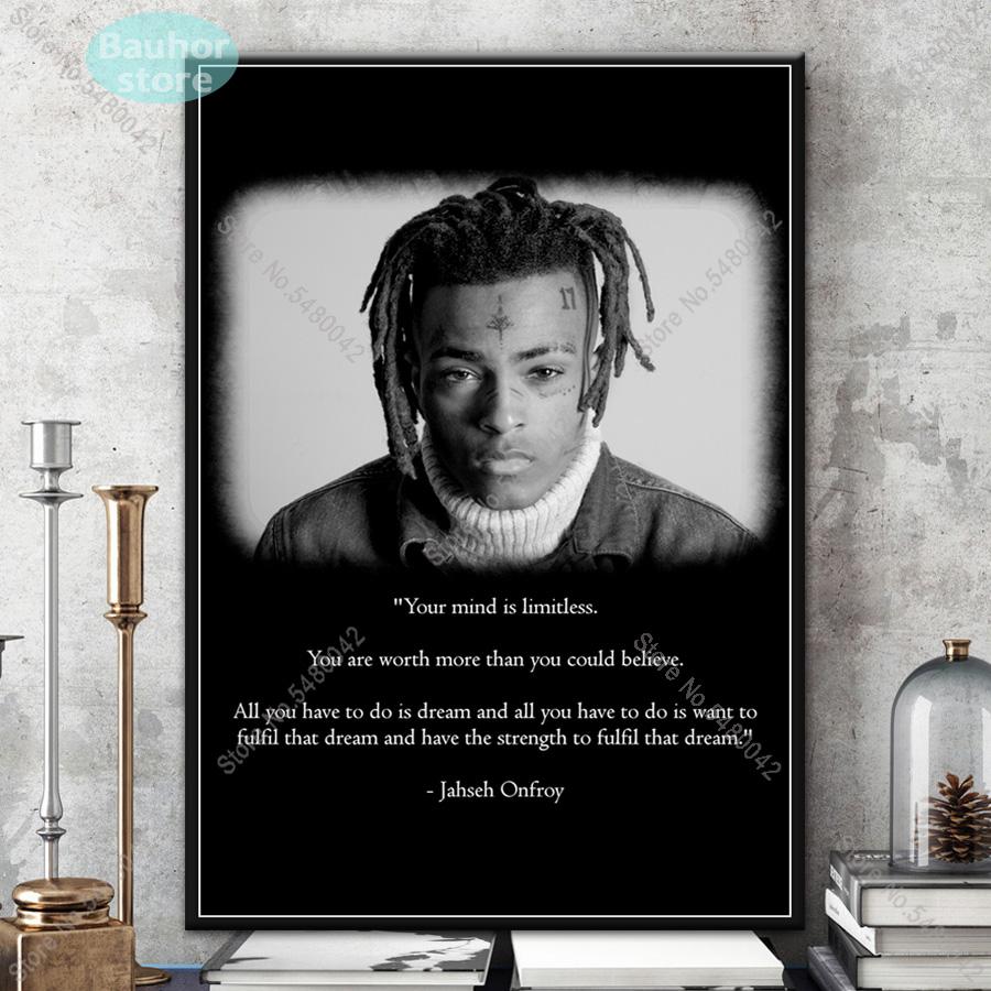 Juice WRLD New Hip Hop Rap Music Star Poster Wall Decor X-45