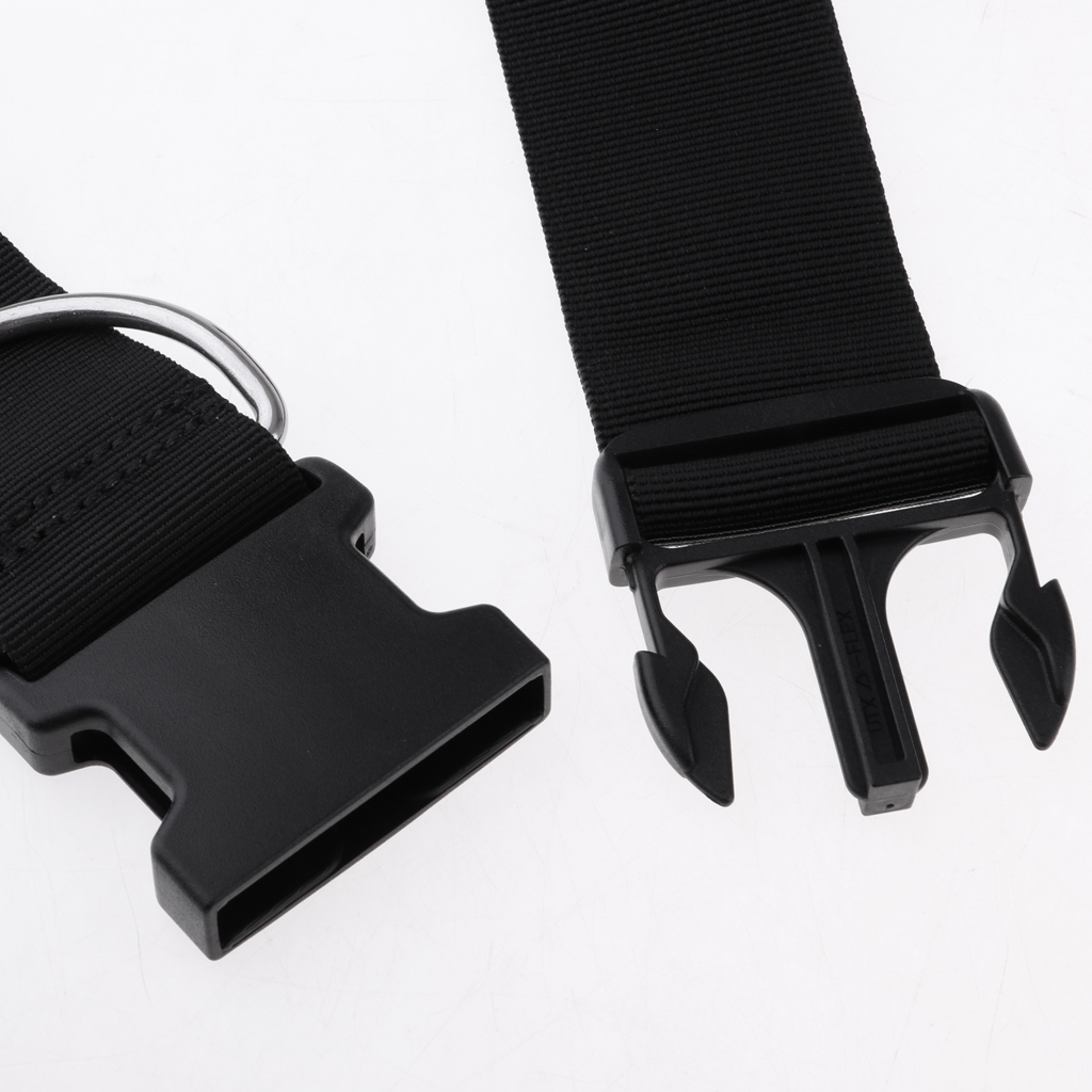 50mm//2inch Crotch Strap Part with Quick Release Buckle /& D Ring Tech Diving Gear