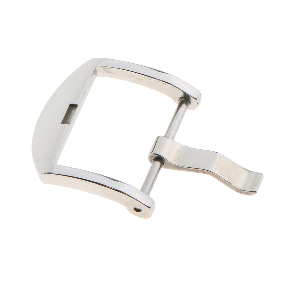 20mm 22mm Stainless Steel Polishing Buckle Pin Tools for Watch Strap Band Silver