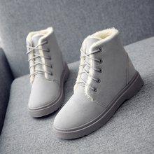 Kış platformu bayan ayak bileği kar siyah avustralya çizmeler kadınlar için 2019 ayakkabı kadın zapatos de botas mujer martin patik topuklu(China)