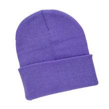 المرأة قبعات صغيرة شتاء دافئ محبوك قبعة شعار مخصص سترة بلا سحّاب أنيقة قبعة الصانع الجملة بيني للرجال(China)