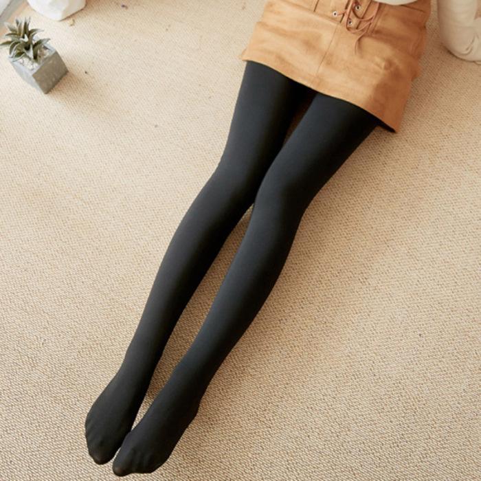 2X En Polaire Doublé Leggings Imprimés