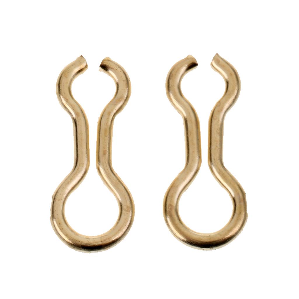 100 pcs Lightweight Brass Sinker Eyes Eyelets Lead Mold Alloy Sinker Eyes Fishing Tackle Accessories S/M/L