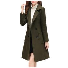 冬のコートの女(China)