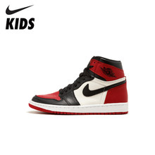 Nike Air Jordan 1 Original Shoes Breathable Children Basketball Shoes Outdoor Sports Man Sneakers #555088-001(China)
