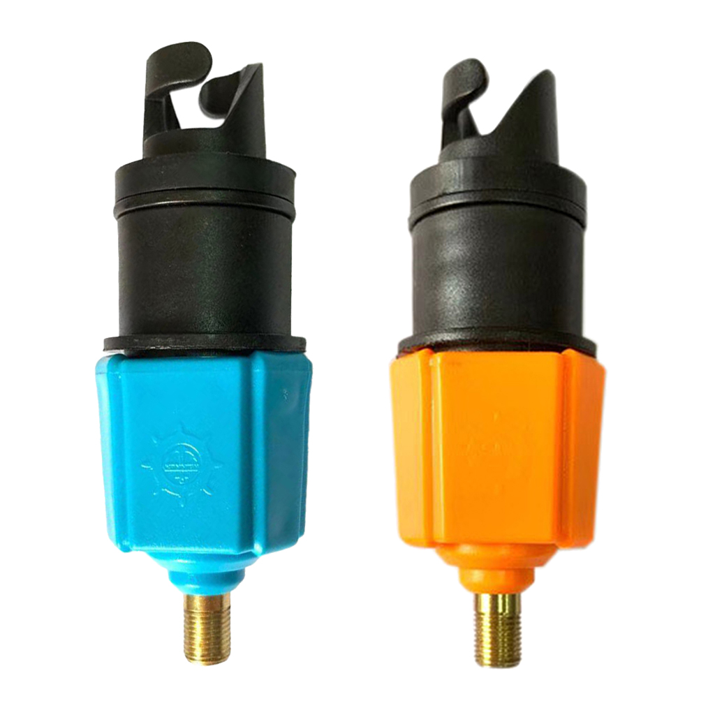 Inflatable Boat Pump Valve Adapter SUP Paddle Board Inflating Adaptor