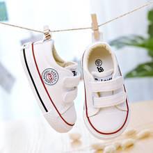 נעלי תינוק ילדים ילדה ילדי בד נעלי בני 2019 חדש אביב קיץ בנות סניקרס לבן אופנה נעליים פעוטה(China)