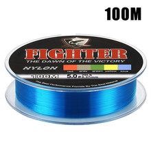 Новая низкая цена, Бесплатная доставка 100м 500 м сильный качество нейлон Рыбалка леска 2LB 4LB 6LB 8LB 10LB 12LB 16LB 20LB 25LB 30LB 35LB(China)