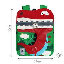 Детский рюкзак милый 3D мультфильм Динозавр анти-потеря Единорог напечатанный детский сад ортопедический школьный портфель для девочки мал...(China)