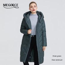 MIEGOFCE 2019 Die Neue Winter Frauen Sammlung Jacke Winter Frauen Mantel V-Förmigen Kragen Mit Kapuze, Dass Wird Schützen von Der Kalten(China)