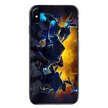 Sert siyah deli kılıf kapak Samsung Galaxy A3 A5 A7 A8 J1 J2 J3 J5 J7 Prime 2015 2016 2017 Meepo dota 2 botları seyahat baskı(China)