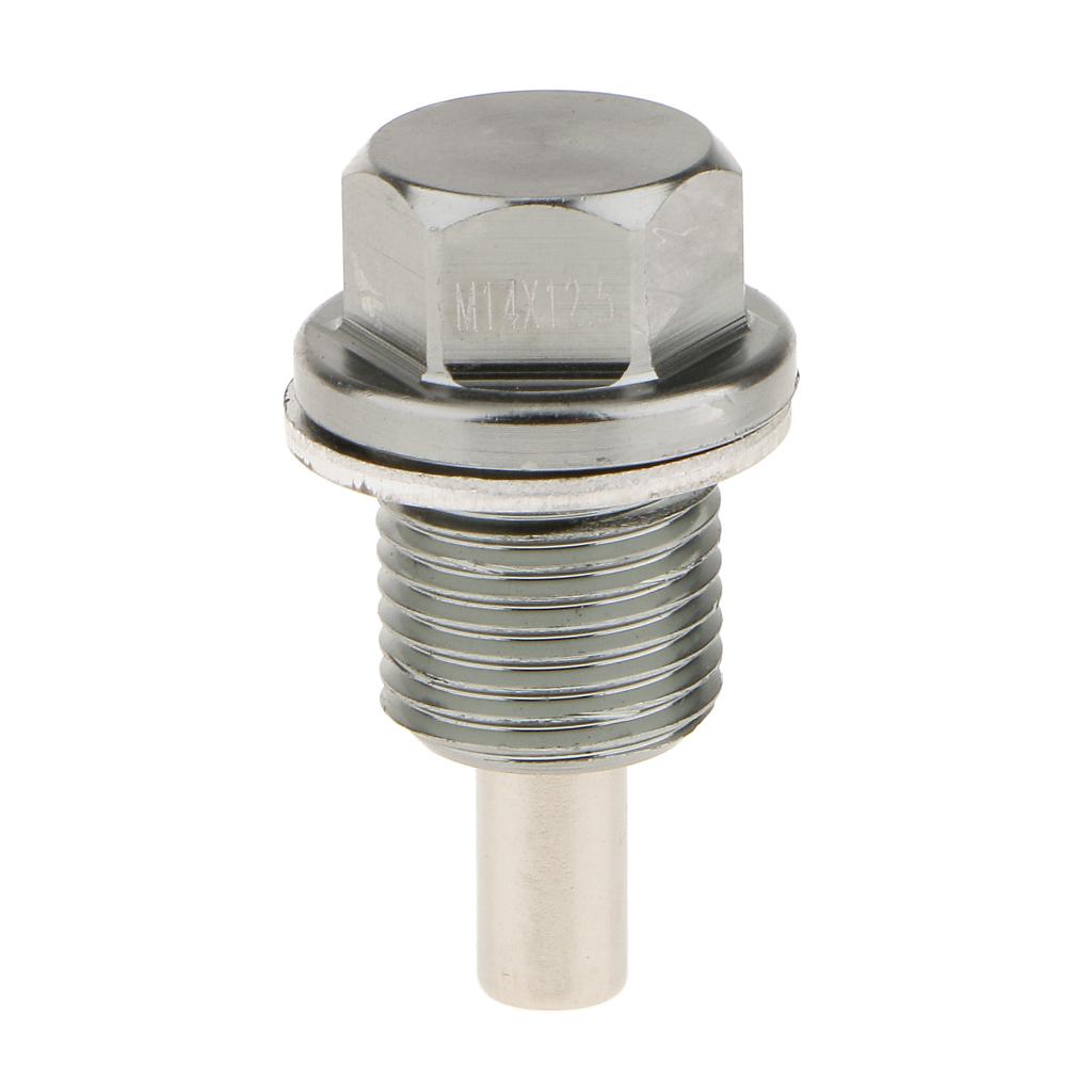 Drain Plug Oil Filter Oil Pan Drain M14 X1.25 Mm Metal Engine Oil Pan For Car