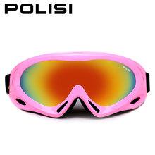 Boşluk! Erkekler kadınlar kayak gözlüğü kayak gözlüğü gözlük Snowboard dağ kayak gözlükleri UV koruma anti-sis büyük kayak maskesi(China)