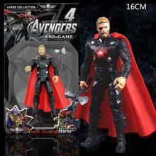 Nova atualização multi-joint Marvel Super Heroes Avengers Capitão América Thor Homem De Ferro Hulk Spiderman Thanos Figura de Ação brinquedos crianças(China)