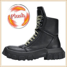Mode Warme Casual Mannen 2019 Laarzen Winter Lederen Botas Hombre Timber Enkellaarsjes Outdoor Man Motorlaarzen 7 #20 /15D50(China)