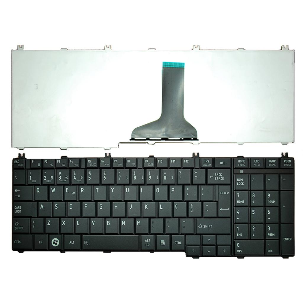 Portuguese Replacement Keyboard for TOSHIBA Satellite C650 L650 L670 L675 L675D PO PT PK130CK3A12 Keyboard High Quality 2019 New