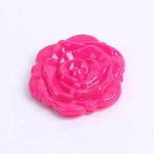 Mini Rose Bunga Cermin Hitam Lipat Bulat Cermin Portabel Gadis Saku Cermin Double Side Mirror Make Up 4 Warna(China)
