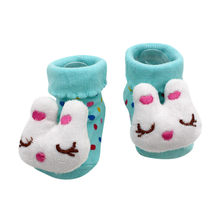 Çocuk çorap karikatür yenidoğan bebek kız sıcak satış erkek kaymaz çorap terlik ayakkabı çizme L501022(China)