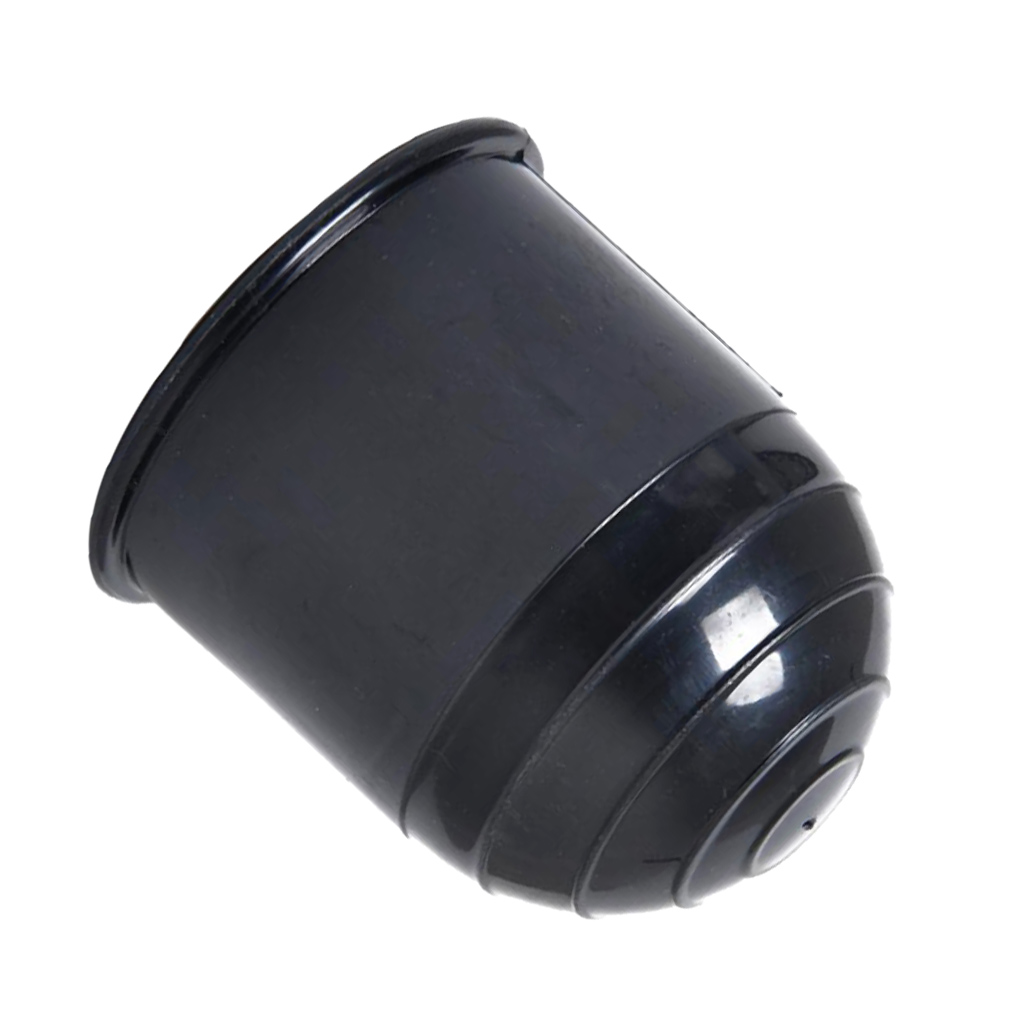 BLACK TOW BAR BALL COVER PLASTIC CAP CAR TOWING HITCH TOWBALL 50MM