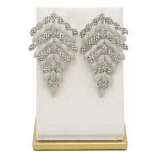 זהב עגילי תליון תכשיטי סטים חדש עיצוב אפריקאי נשים עגיל(China)