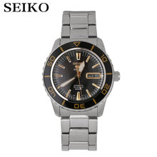 Seiko montre hommes 5 automatique montre haut marque de luxe Sport hommes ensemble de montres étanche mécanique militaire montre relogio masculinoSNZ(China)