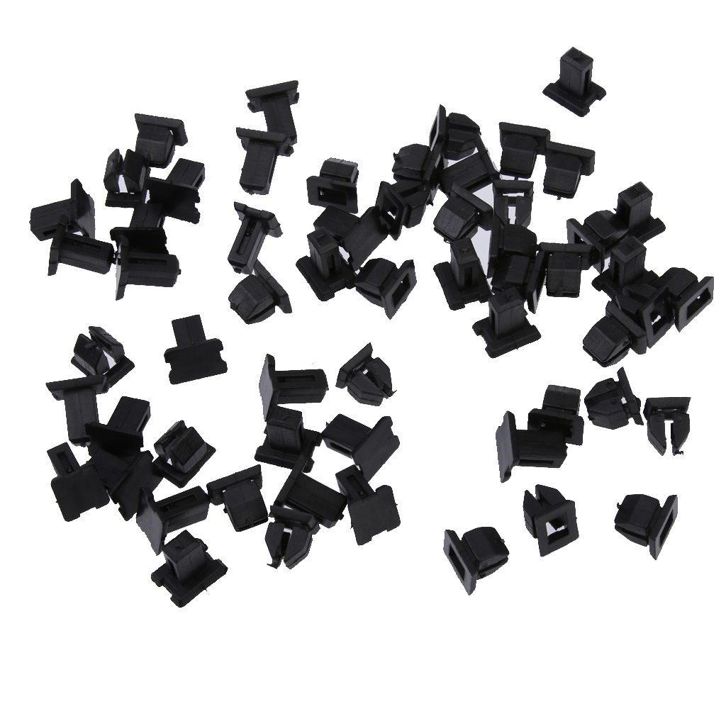 30 Pcs Plastic Retainers Fasteners Clip Replace For Mercedes W124 R129 W140 W202 Repalce 12499007929C75