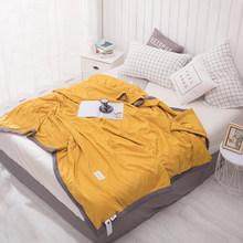 1 pçs colcha de algodão de lavagem macia, também bom uso como cobertor de primavera verão fresco 145x195/175x215/195*225cm(China)