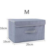 Тканевый складной ящик для хранения одежды, нижнее белье, носки, Organizador, детские игрушки, коробки для хранения, ящики, инструменты для макияж...(China)
