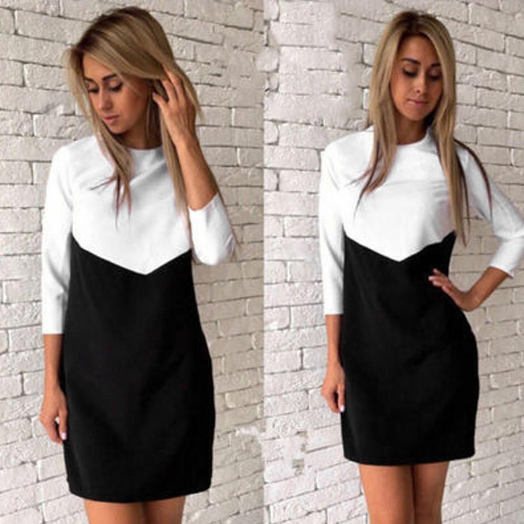 Платье Черный Верх