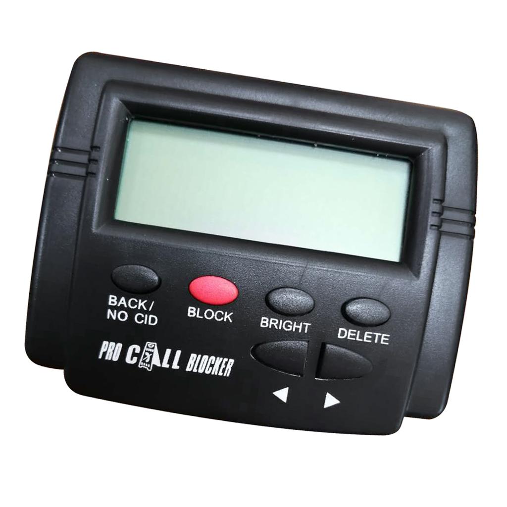 Telephone Caller ID Call Blocker Call ID For Fixed Telephone 1500 Capacity