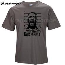 2018 qualidade superior ufc-campeão de peso featherweight conor mcgregor camiseta masculina topos designer t camisa masculina(China)