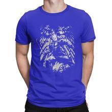 Jason dans les bois Freddy Vs Jason T-Shirt hommes horreur Halloween effrayant vendredi le 13th coton T-Shirt(China)