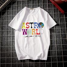 Fashion Chic T-shirt Pria Kaos Harajuku Cetak Tshirt Pria Hip Hop Streetwearhomme Tops Tees Kartun Kebesaran(China)