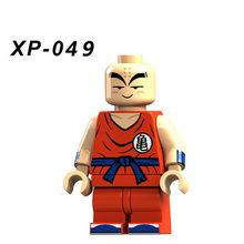 Dragon Ball Z Son Goku Trunks Vegeta Majin Buu Futuro LegoINGlys Kit Crianças Dos Desenhos Animados Crianças Presentes Brinquedos Bloco de Construção(China)