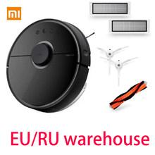 Xiaomi Roborock S50 S55 пылесос 2 робот приложение управление Умный планируемый подметания и влажной уборки Версия ЕС Быстрая доставка(China)