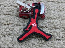 Bán dễ thương Mini Silicone Không giày Móc Khóa Giày bóng rổ Ba lô mặt dây chuyền chìa sáng tạo lực lượng giày móc khóa(China)