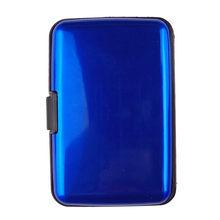 Waterproof ID Credit Card Wallet Holder money Wallet Purse Case Antimagnetic Aluminum Cards bag Business Credit Card Metal case(China)