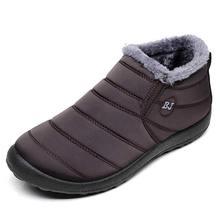 Phụ Nữ Ủng 2019 Chống Thấm Nước Mới Mùa Đông Giày Nữ Giày Nữ Chắc Chắn Giày Người Phụ Nữ Giữ Ấm Sang Trọng Mùa Đông Giày Nữ giày(China)