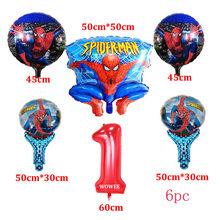 30pc Spiderman Birthday Party อุปกรณ์มีดช้อนส้อมบนโต๊ะอาหารเทศกาล Superhero ทารกอาบน้ำตกแต่ง(China)