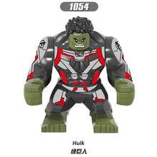 Série super-heróis Hulk Thanos Legoed Modelo Montagem Tijolos de Blocos de Construção Kit DIY Educação Brinquedos Presentes de Natal Atacado(China)