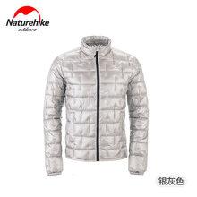 Naturehike 10D Nylon Ultraleicht Outdoor Unten Jacke Mantel 1000FP Männer Frauen Herbst Winter Im Freien Kalte Wind Schutz Warm Halten(China)
