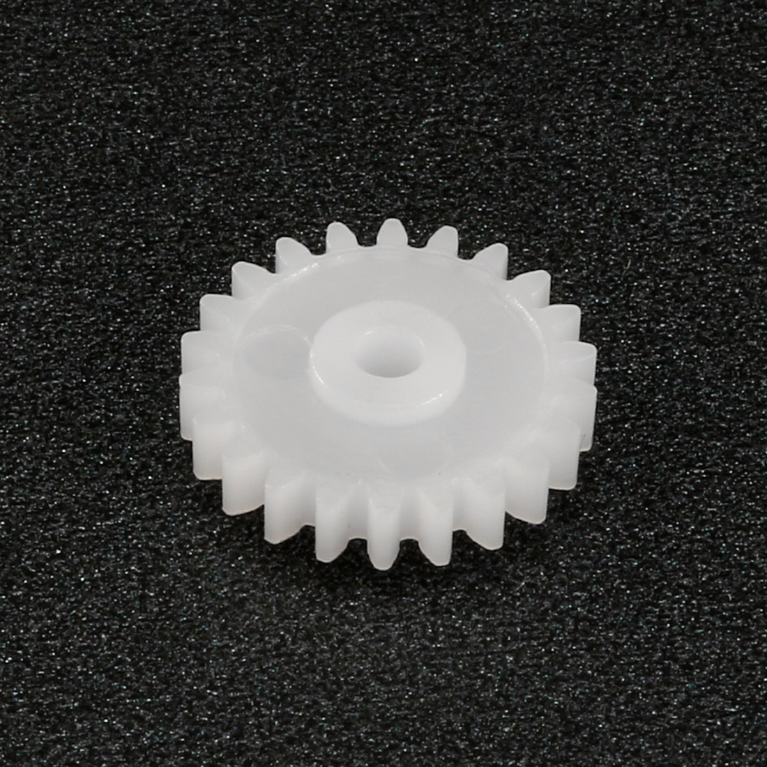 uxcell 50pcs Plastic Gears 20 Teeth Model C202A Reduction Gear Plastic Worm Gears for RC Car Robot Motor