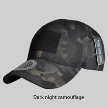 التكتيكي في الهواء الطلق الرياضة شريط التمويه قبعة البساطة العسكرية الجيش كامو الصيد قبعة للرجال الكبار كاب جميع للصيد(China)