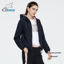 ICEbear 2020 ผู้หญิงฤดูใบไม้ผลิฤดูใบไม้ผลิแฟชั่น Casual ผู้หญิงเสื้อสวมใส่ทั้งสองด้านหญิงยี่ห้อเสื้...(China)