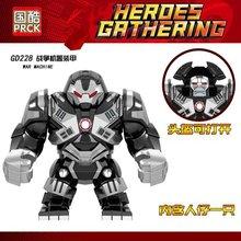 Legoing Conjuntos de Brinquedos Hobbies & Batman Capitão América Marvel Hulk Superman Caráter Legoings Maravilhou Tijolos Crianças Brinquedos Educativos(China)