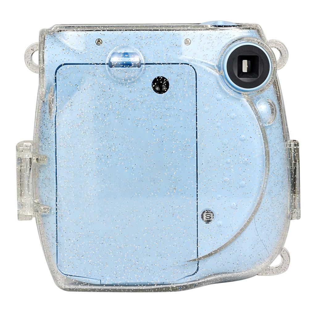 Camera Bag Crystal Case Glitter Shell For Fujifilm Instax Polaroid Mini7s//7c